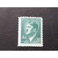 02.1945 - Портрет Адольфа Гитлера. дополнительный выпуск 1945 г.