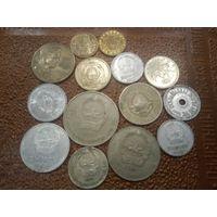Монеты Монголия и Югославия