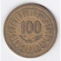 100 миллим 1983 Тунис