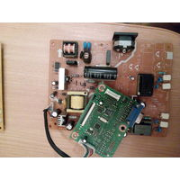 Рабочее нутро монитора  ASUS-193S(бит корпус и матрица)