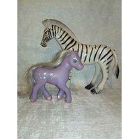 Лошадки - зебра и пони одним лотом
