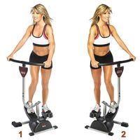 Тренажёр Cardio Twister (степпер) + программы занятий (диск)