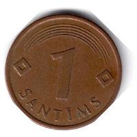 Латвия. 1 сантим. 1997 г.