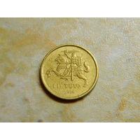 Литва. 10 центов. 1998г. (12)