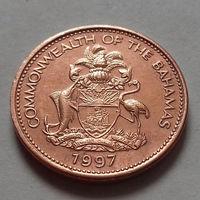 1 цент, Багамские острова (Багамы) 1997 г., UNC