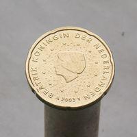 Нидерланды 20 евроцентов 2003 (1-ый тип)