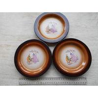 Тарелки керамические, цена за все