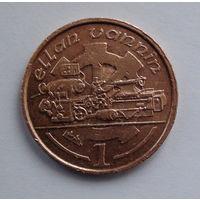 Остров Мэн 1 пенни. 1994