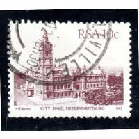 ЮАР.  Mi:ZA 610Ia. Pietermaritburg Серия: Здания. 1982.