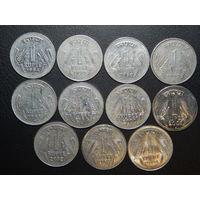 Индия 1 рупия (список) 1