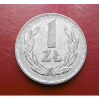 1 злотый 1975 Польша #02