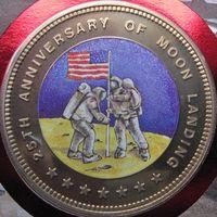 Экваториальная Гвинея, 1000 франков, 1994, пруф, монета-письмо
