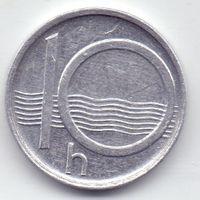 Чехия, 10 геллеров 1994 года.
