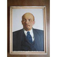 Картина Ленин. Холст,масло. Без МПЦ. Размер 80 х 60 см.