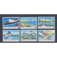 [1210] Новая Зеландия 1989.Морская фауна.