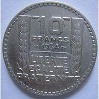 Франция. 10 франков 1933. Серебро .297