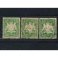 Бавария Германия 1888-1900 Герб Стандарт #55