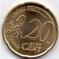 Кипр, 20 евроцентов 2008 года.