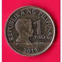 36-38 Филиппины, 1 песо 2013 г.