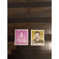 1982 Южная Корея персоналии полная серия (4-11)