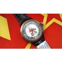Часы ПАПА РИМСКИЙ Восток 2409 90-х(Иоанн Павел 2),СССР, РЕДКИЕ