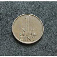 Нидерланды 1 цент 1964
