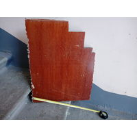 Толстый лист текстолита 25х460х500мм.