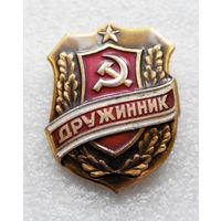 Знак Дружинник. СССР #0726-OP16
