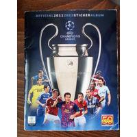 Журнал для наклеек Лига Чемпионов(League Champions 2011-2012)