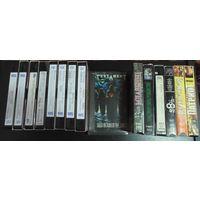 9 видеокассет с клипами и концертами металлических и хардроковых исполнителей + бонус.