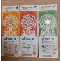 3 Входных билета на Торжественную Церемонию Закрытия 2 Европейских Игр 2019 года