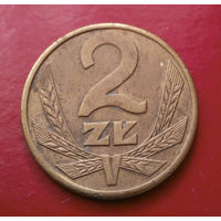2 злотых 1988 Польша #11