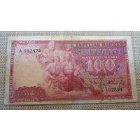 Латвия 100 латов 1939