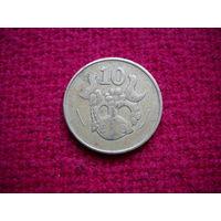 Кипр 10 центов 1983 г.