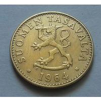 50 пенни, Финляндия 1964 г.