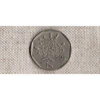 Мальта 50 центов 1992 /флора//(Sx)