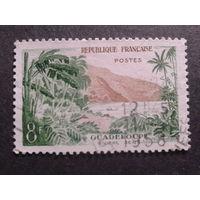 Франция 1957 Гваделупа, колония