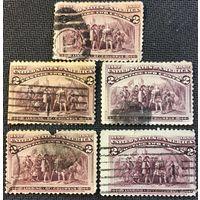 ЦІКАВІЦЬ АБМЕН! 1892 LANDING OF COLUMBUS 2 цэнта