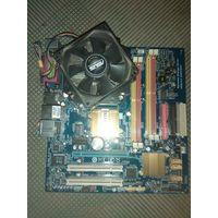 Gigabyte GA-EG31MF-S2 с процессором