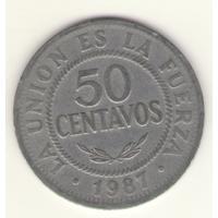 50 сентаво 1987 г.