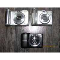 Фотоаппарат CANON 3 шт. одним лотом