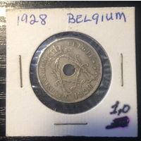 Бельгия, 25 сентим 1928г.