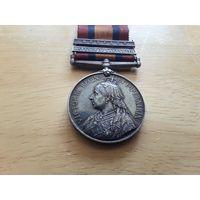 Медаль королевы Виктории за Англо-бурскую войну Великобритания