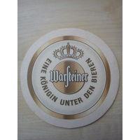 Бирдекель (подставка под пиво) Warsteiner/Германия