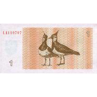 1 талон Литвы 1992 г.