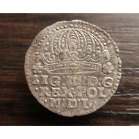 Грош 1612 года Грош Сигизмунд 3 ВКЛ