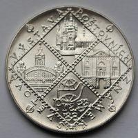 Чехословакия,100 крон, 1988, серебро