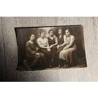 Фото 1934 года, Барановичи, размер 14*9 см.