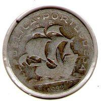 Португалия 5 эскудо 1933 года.