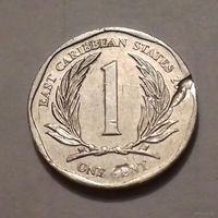 1 цент, Восточные Карибы 2011 г.
